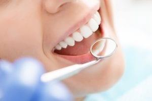 dentist inspection mirror